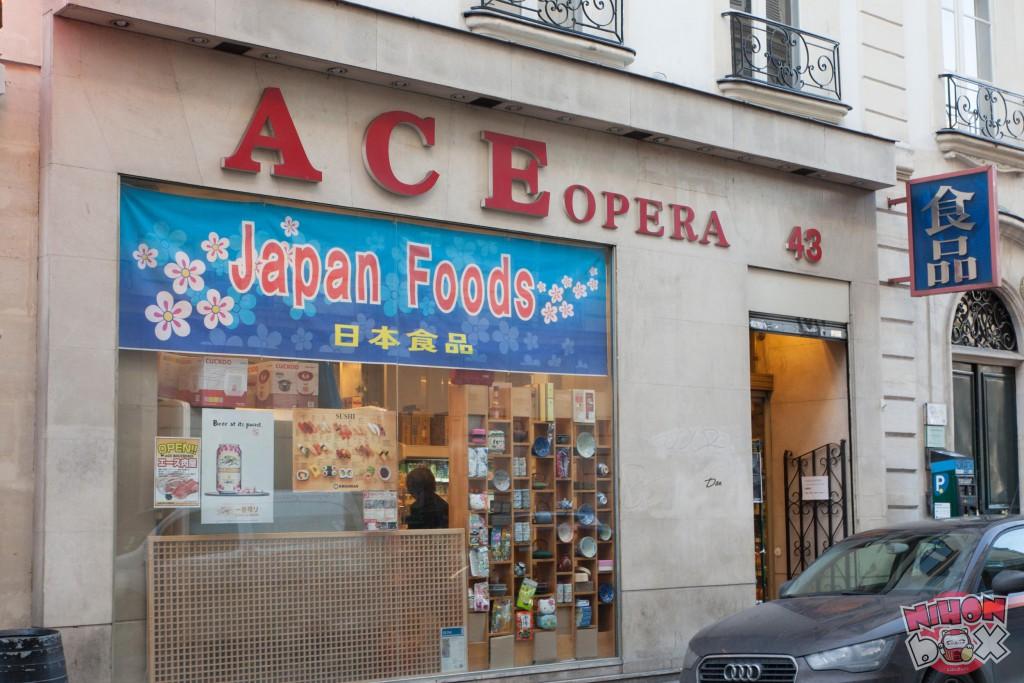 Agréable Epicerie Japonaise Paris 15 #15: A Lu0027instar De De K-Mart, Ace Est Une épicerie Coréo-japonaise à Dominante  Coréenne (ses Employés Sont Coréens). Il Existe 2 Magasins Ace Dans Le  Quartier ...